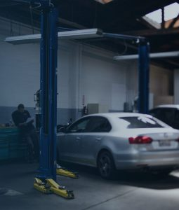 automotive repair bay
