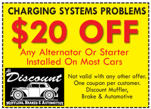 Alternator or Starter Repair Coupon