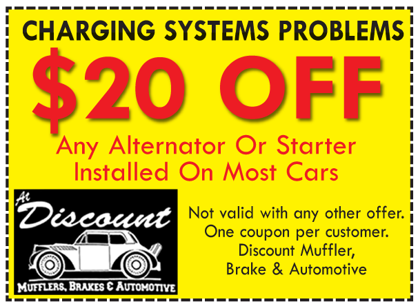 Alternator or Starter Repair Coupon