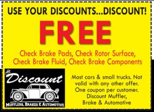 free brake inspection coupon